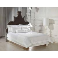 Buy cheap Hotel Bulk Percale Bed Sheet Luxury White Hotel Cheap Sateen Bed Sheets product