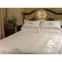 Buy cheap Hotel Collection Bed Linen Textile Fabric White Duvet Cover Sets Cotton Cheap Comforter Bedding Sets product