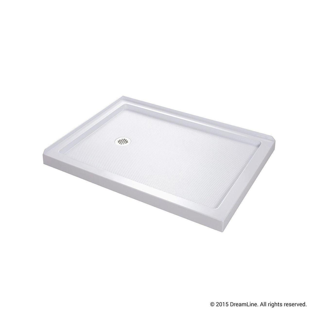 Buy cheap 32 x 48 shower base left drain product