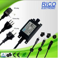 Buy cheap 12W cord connected power supply with BS/GS/SAA certified product