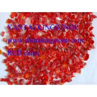 Red Glass aggregates