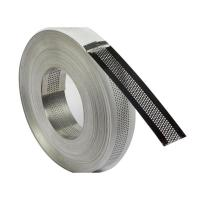 Buy cheap Perforated stainless steel edge strip product