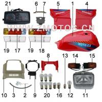 Tricycle F076 FUEL TANK AND SIDE COVER-6