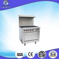 China Cooking Equipment Six Burner Gas Hot Plate Oven ETL on sale