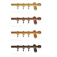 China wooden curtain pole CP-012 on sale