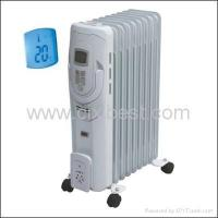 Buy cheap LCD Portable Electric Oil Filled Radiator Heater BO-1020 product