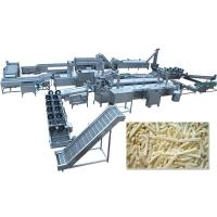 Buy cheap Automatic Frozen French Fries Production Line Price from wholesalers