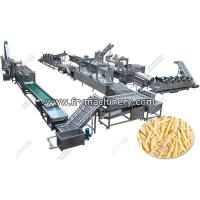 Buy cheap 500 kg/h Frozen French Fries Making Machine for Sale from wholesalers