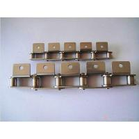 Buy cheap Double pitch bending plate with stainless steel chain from wholesalers