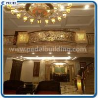Copper and aluminum stair railing Copper stair railing coppe