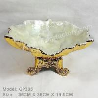 Buy cheap B:Gold plated and seashell item Classic Plate GP305 product