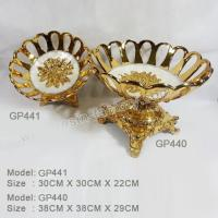 Buy cheap B:Gold plated and seashell item Resin Plate GP440_441 product