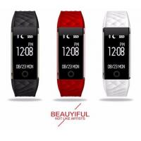 Fitness Activity bicycle Tracker sync facebook smart wristband S2