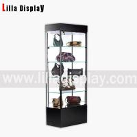 Buy cheap Glass countertop tower display case for bags display Item code:71003 from wholesalers