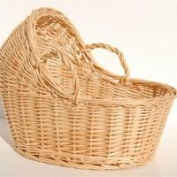 Buy cheap wicker baby basket product