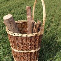 Buy cheap wicker log basket product