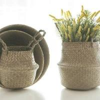 Buy cheap Straw Seagrass Basket product