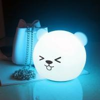 Buy cheap Gift Sets Ball Shape Silicone LED Night Light product