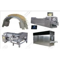 Buy cheap 45 Moulds Automatic Wafer Biscuit Processing Line Price for 180kg/h from wholesalers