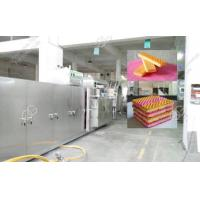 Buy cheap 39 Moulds Full Automatic Wafer Biscuit Line for 150kg/h from wholesalers