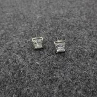 Buy cheap Stock CZ stud Name:The fox Zircon Earrings from wholesalers
