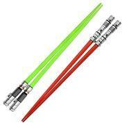 China Accessories Star Wars: Darth Maul and Luke Skywalker Lightsaber Chopsticks Set 9013021 on sale