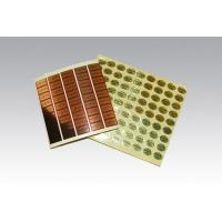 Buy cheap Label printing Light gold, matte gold stickers from wholesalers