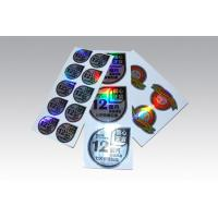 Buy cheap Label printing Laser stickers from wholesalers