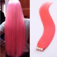 Buy cheap Tape Human Hair Skin Weft,Red Human Hair Skin Weft 20Pcs/Set from wholesalers