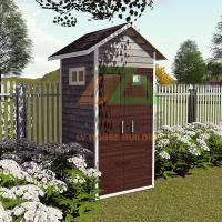 DIY Sip Panel Wood House for Tools Storage in Backyard Easy to Build Tidy the Garden