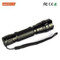 Buy cheap Rechargeable waterproof IP68 ABS diving led flashlight torch with Magic Sticker product