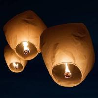 Lanterns Sky Lanterns - Full Case of 36