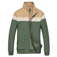 China Latest standing collar jacket mens truck suit in sport on sale