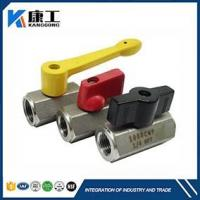 NSF Approval, 1Pc Stainless Steel Hex Body Mini Ball Valve