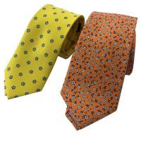 Buy cheap Tie 100% Silk Printed Necktie from wholesalers