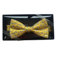 Buy cheap Tie 100% Silk Printed Bowtie from wholesalers