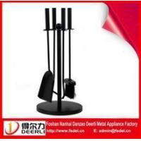 Buy cheap Fireplace Tools/fireplace tool sets / poker tong brush shovel/ black powder coating from wholesalers