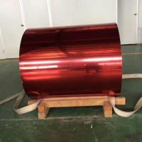 Buy cheap Red Color Coated Aluminum Coil from wholesalers