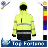Buy cheap polyester Padded workwear jacket coat winter HV jacket product