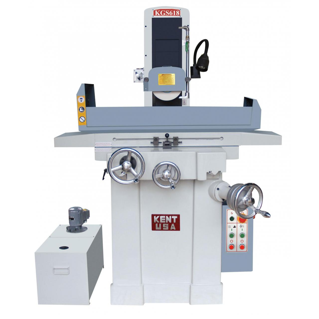 """Buy cheap Kent KGS-618 6"""" x 18"""" Manual Surface Grinder product"""