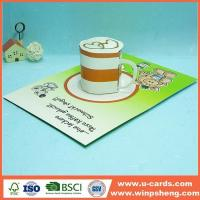 China Handmade Card Pop Up I Love You Card Template For Mothers Day on sale