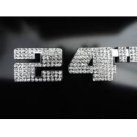 Buy cheap Accessories 20-26 Inch Diamond Crystal Emblem from wholesalers