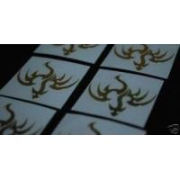 Buy cheap Accessories Dragon Graphic Metal Decal Golden Emblem Sticker Set from wholesalers