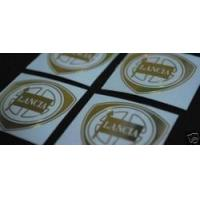Buy cheap Accessories Lancia Metal Decal Golden Emblem Sticker from wholesalers
