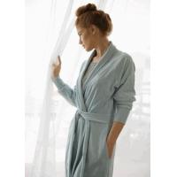 China Bed In A Bag Organic Cotton Velour Bath Robe on sale