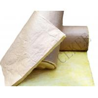 glass wool with kraft paper