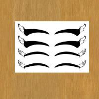 Buy cheap eye liner body art temporary tattoo for makeup product