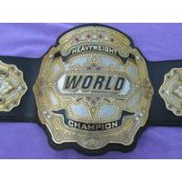 Buy cheap Real World Heavyweight Wrestling Boxing Championship Title Belt product