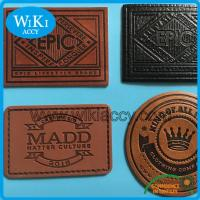 Buy cheap Garments Faux Leather Patches product