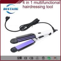 China multi-functional hair styling set combined with hair straightener, curling iron,comb and message on sale